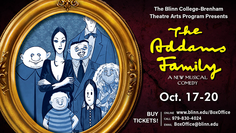 Blinn College-Brenham Theatre Arts opens new season with 'The Addams Family'