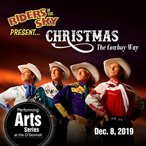 America's favorite cowboys to celebrate 'Christmas the Cowboy Way' at the O'Donnell Center