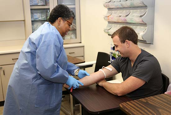 Jared Cravens Phlebotomy